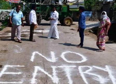 Uttarakhand: मृतक की कोरोना रिपोर्ट पॉजीटिव, गांव, पुलिस चौकी सील