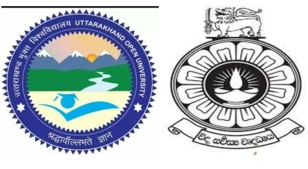 उत्तराखंड मुक्त विश्वविद्यालय और श्रीलंका ओपन यूनिवर्सिटी के बीच एमओयू