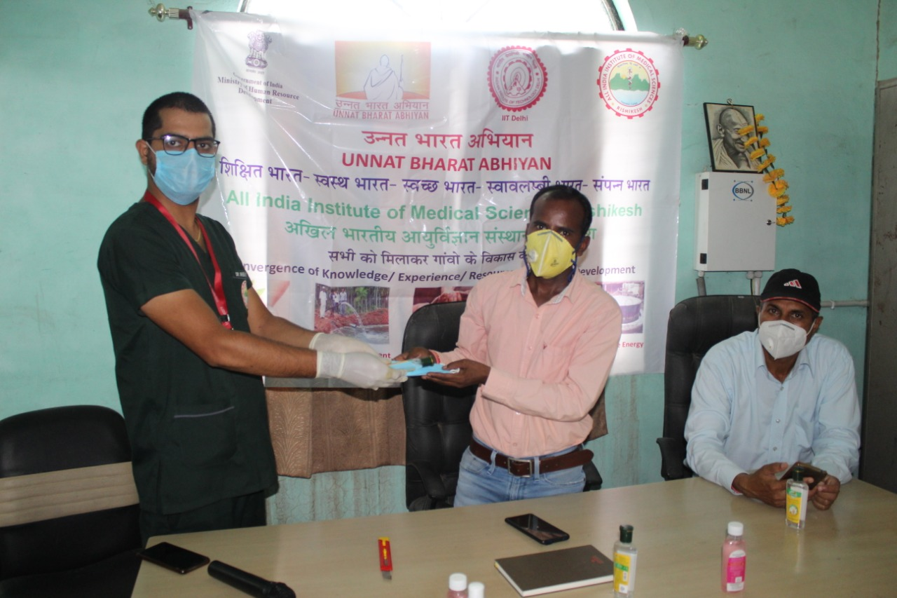 AIIMS Rishikesh: उन्नत भारत अभियान के तहत कोविड-19 महामारी को लेकर जनजागरुकता मुहिम शुरू