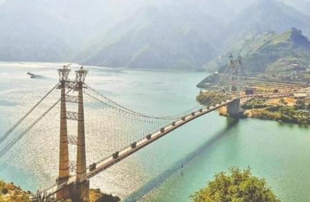 खुशखबरीः डोबरा-चांठी पुल पर वाहनों का ट्रायल सफल, जल्द होगी आवाजाही शुरू