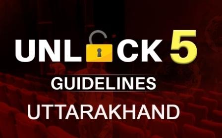 Uttarakhand unlock-5: अनलॉक-5 की गाइडलाइन जारी, 15 अक्तूबर से अधिकतर छूट