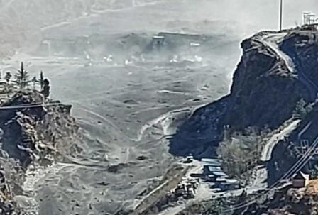 बिग ब्रेकिंगः चमोली के रैणी में फटा ग्लेशियर, धौली नदी में बाढ़, चमोली से हरिद्वार तक खतरा