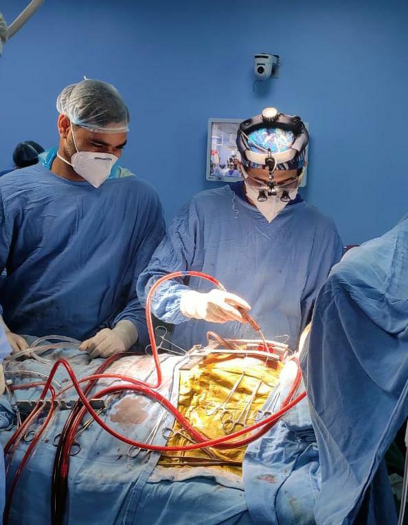 एम्स चिकित्सकों ने किया एवीएसडी की सफल हार्ट सर्जरी