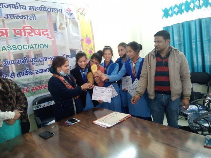 राजेंद्र सिंह रावत राजकीय महाविद्यालय बड़कोट में इको क्लब की समिति गठित