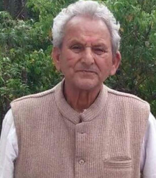 समाजसेवी एवं सर्वोदयी नेता बिहारी लाल का लंबी बीमारी के बाद निधन