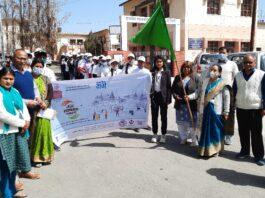 पीजी कॉलेज नई टिहरी में गंगा स्वच्छता पखवाड़ा के तहत गंगा रन का आयोजन