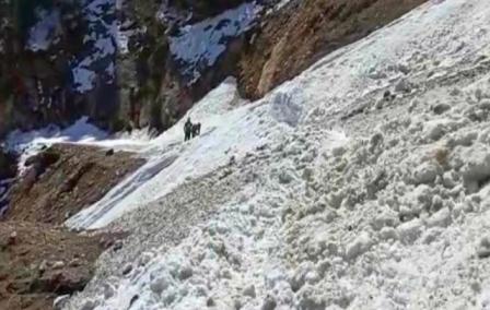 भारत-चीन (तिब्बत) सीमा क्षेत्र सुमना के पास ग्लेशियर टूटने की खबर