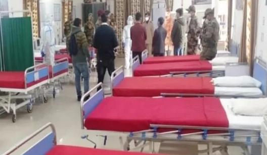 कोविड उपचार को सेना ने अब पहाड़ में भी बढ़ाए कदम, जोशीमठ में किया कोविड अस्पताल तैयार