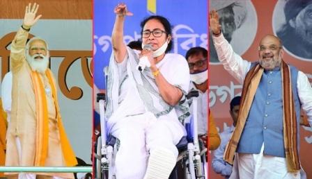 विस चुनाव परिणाम 2021ः पश्चिमी बंगाल, असम, केरल, तमिलनाडु एवं पुडुचेरी में मतगणना शुरू