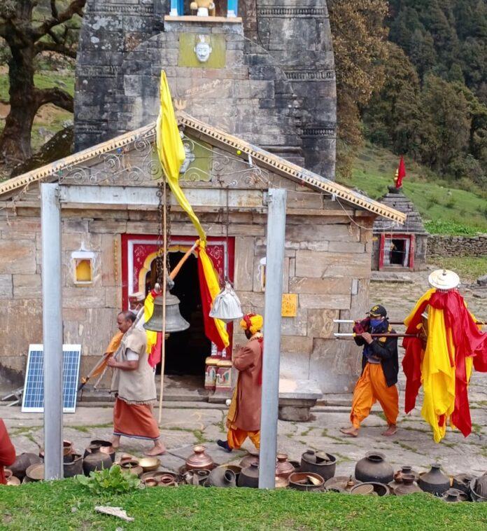 द्वितीय केदार भगवान श्री मदमहेश्वर जी के कपाट खुले