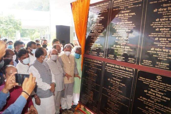मुख्यमंत्री ने किया काठगोदाम में 10909.25 लाख के विकास कार्यो का लोकार्पण एवं शिलान्यास