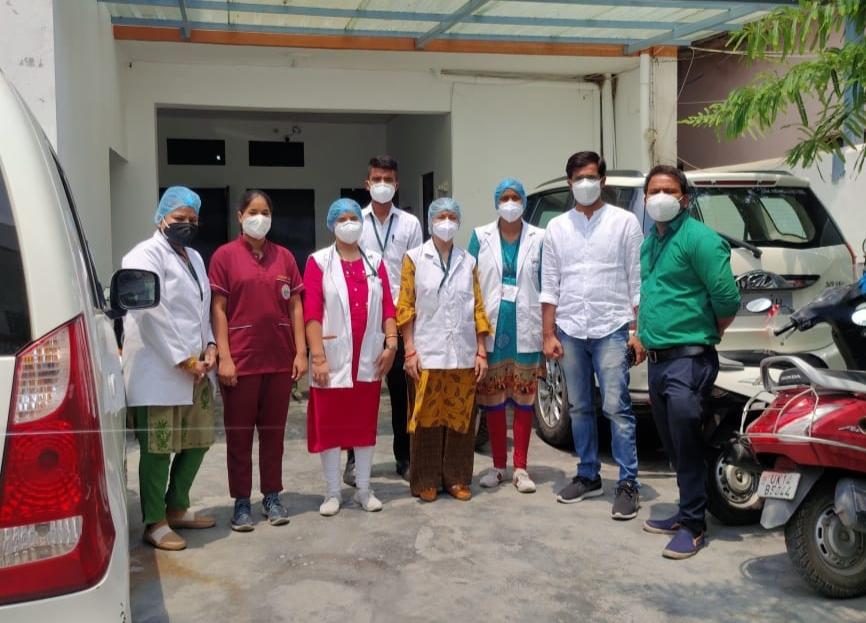 एम्स ऋषिकेश: कोरोना वायरस के संक्रमण को लेकर जनजागरुकता मुहिम