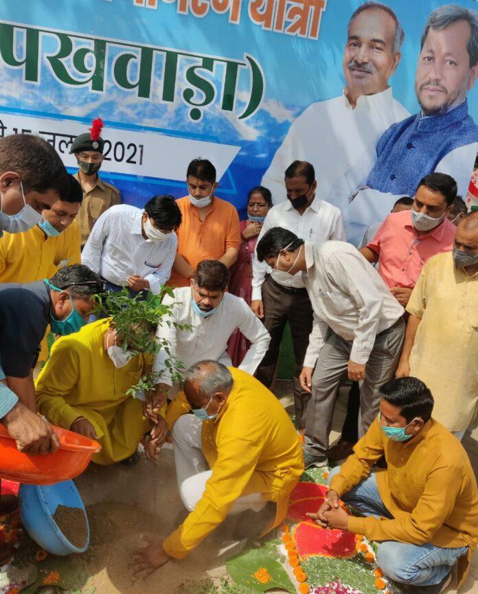 शिक्षा मंत्री अरविन्द पाण्डेय ने की गौरा देवी पर्यावरण जनजागरण यात्रा की शुरुआत