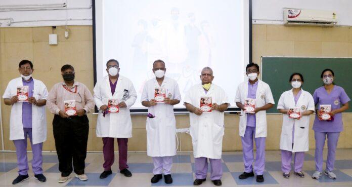 एम्स ऋषिकेश में डॉक्टर्स डे पर कार्यक्रम, किया गया क्वालिटी हैंडबुक का विमोचन
