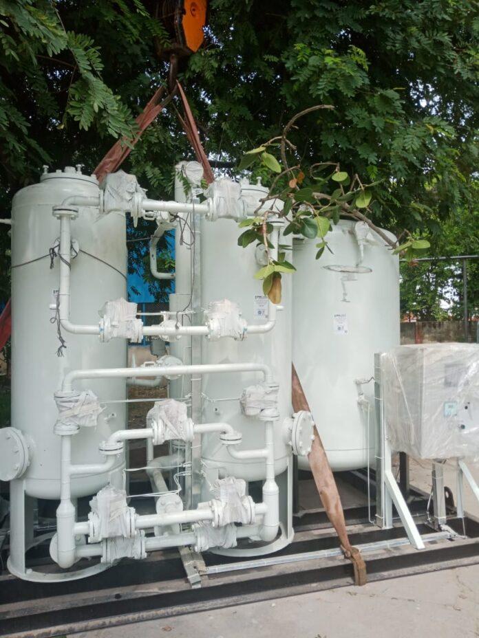 एम्स में स्थापित हो रहा हवा से ऑक्सीजन उत्पादन करने वाला नया ऑक्सीजन प्लांट