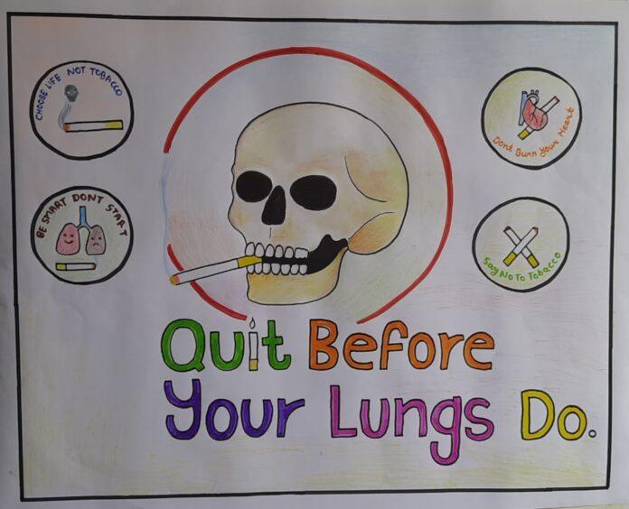 तम्बाकू के दुष्प्रभावों को लेकर युवाओं को किया जागरूक