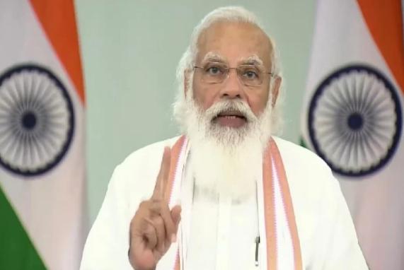 प्रधानमंत्री नरेन्द्र मोदी ने किया ई-रुपी लांच