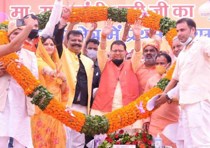 मुख्यमंत्री धामी ने खानपुर विधानसभा की 1469.25 लाख की योजनाओं का किया लोकार्पण और शिलान्यास