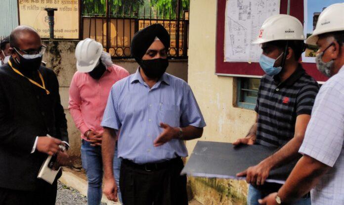 मुख्य सचिव डॉ.सन्धु ने किया नई दिल्ली में निर्माणाधीन 'उत्तराखण्ड निवास' का निरीक्षण
