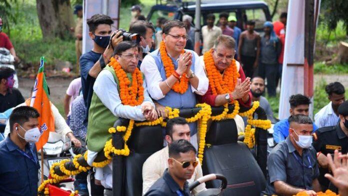 मुख्यमंत्री ने किया मसूरी विधानसभा की 70 करोड़ की योजनाओं का लोकार्पण एवं शिलान्यास