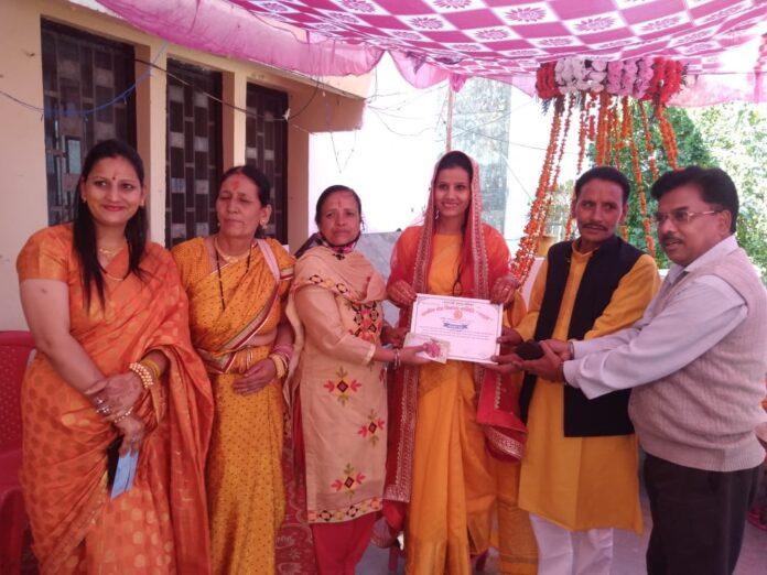 टिहरी में तीन परिवारों ने अपनी पुत्रियों की शादी में नहीं की कॉकटेल
